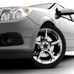 CAR FRONT VIEW - shutterstock_40104427