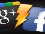 Google Plus Facebook