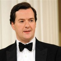 George Osborne at the mansion house 2014