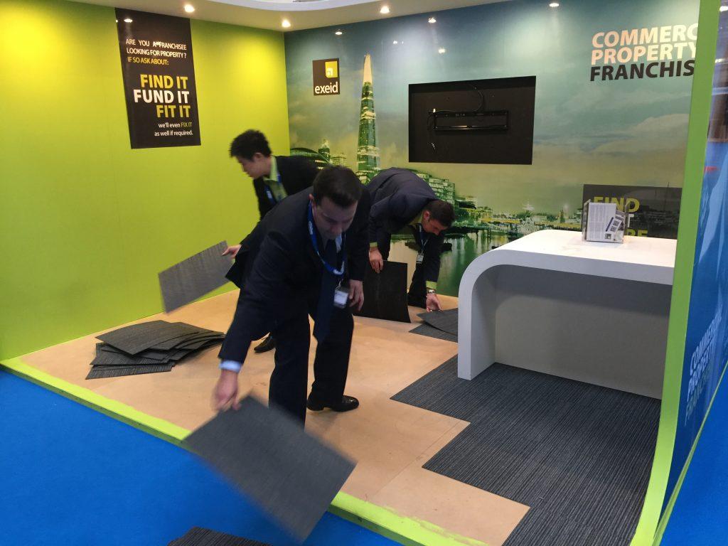Exhibition Stand Staff Training : Custom exhibition stand