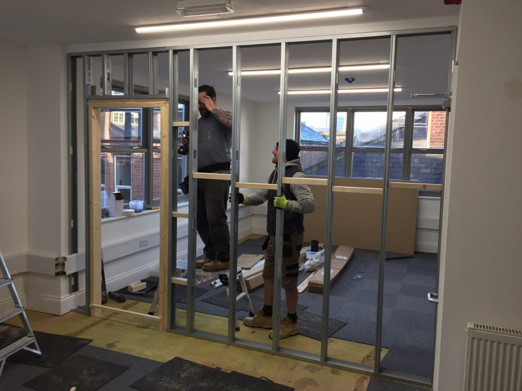 Another office refit from the team at exeid exeid for Office refit