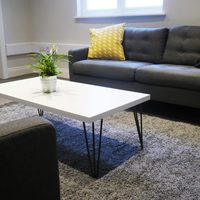 Sofa area within office suite