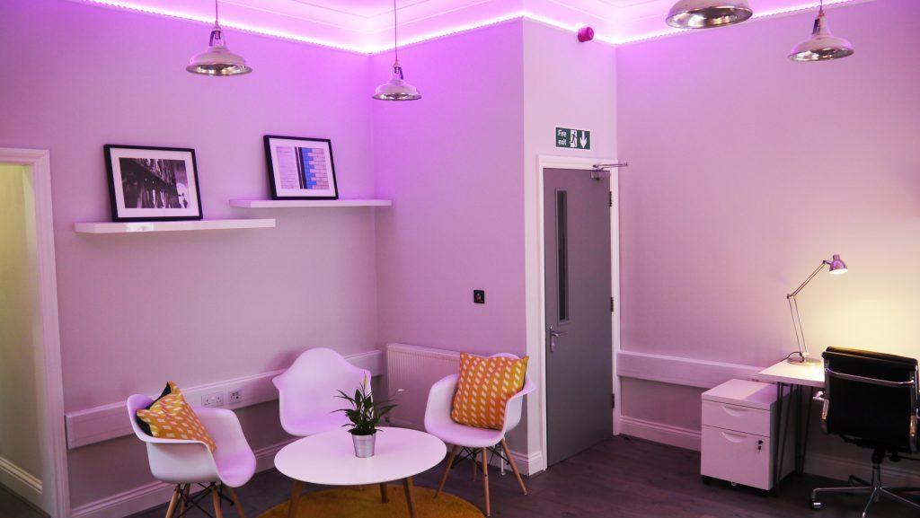 exeid.com bespoke lights office
